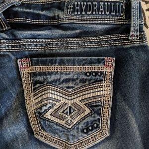 Hydraulic Super Skinny Jeans Size 5/6